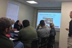 Ryan Thomas teaching casualty course